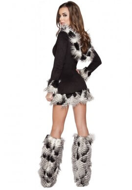 Feathered Fluff Costume