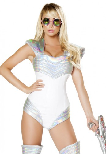 Space Soldier Costume Romper