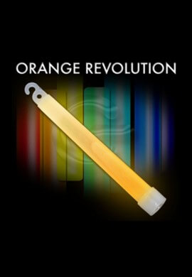 orange glow sticks