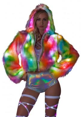 Light Up Cropped Jacket