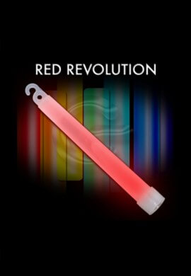 red glow sticks