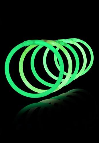 """8"""" Glow Bracelets (Green - 50 pack)"""