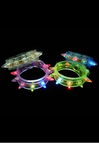 Flashing Spike Bracelet
