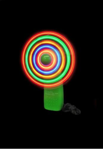 Light Up LED Fan