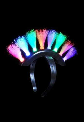 GlowHawk LED Mohawk
