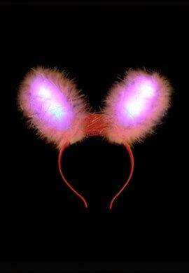 LED Flashing Rabbit Ears