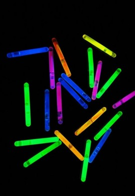 "(50) Pack of 1.5"" Glow Sticks"