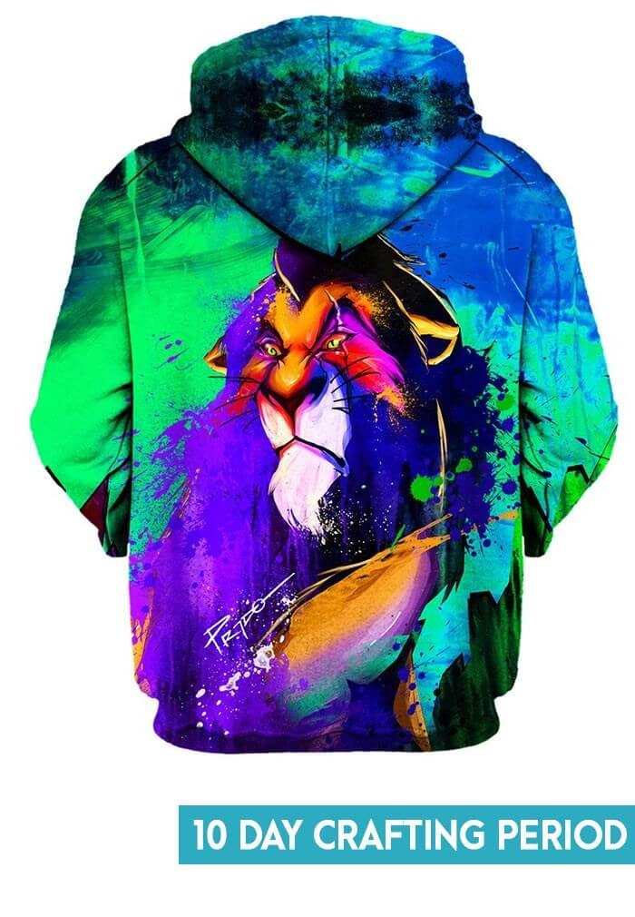 Scar Hoodie Festival Clothing From Raveready