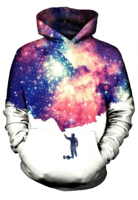 Painting the Universe Hoodie