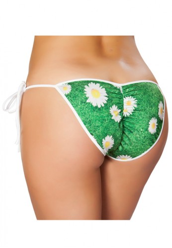 Daisy Pucker Bikini Bottom