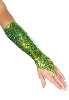 Seafoam Green Mermaid Gloves