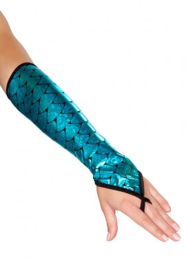Blue Mermaid Gloves