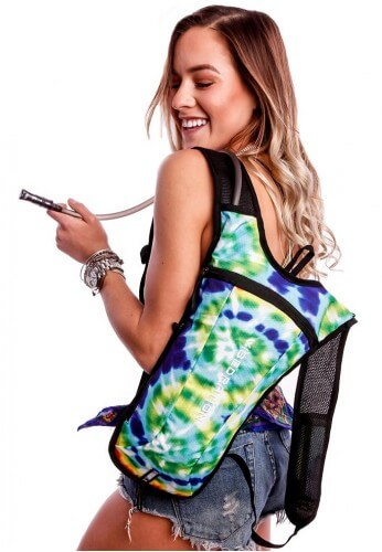 GA Hippie Tye Dye Hydration Bag