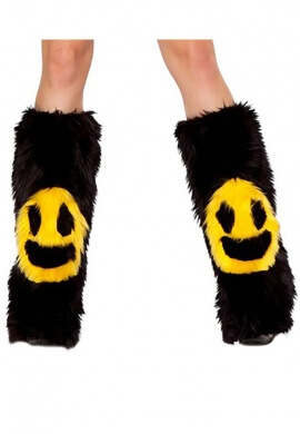 Black Smiley Fluffies