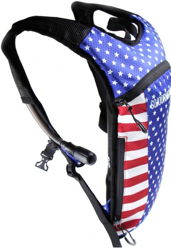 USA Flag Hydration Pack