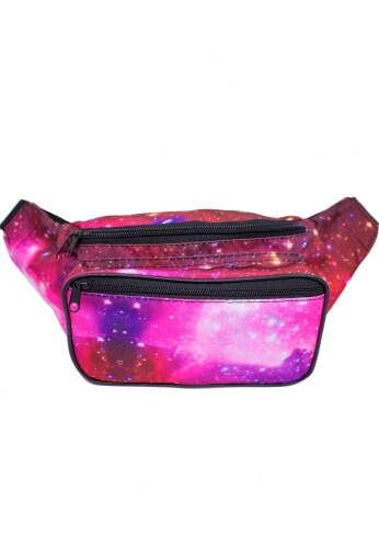 Galaxy Rave Fanny Pack