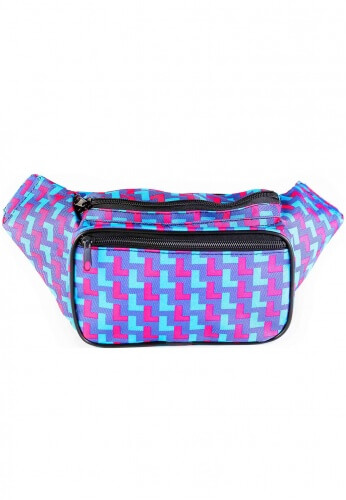 80's Neon Fanny Pack