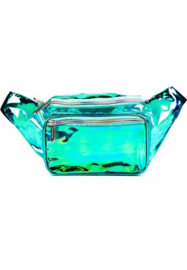 Cool Winter Iridescent Fanny Pack