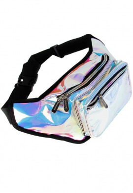 Cool Rainbow Iridescent Fanny Pack