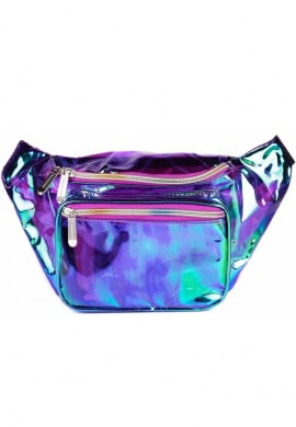 Holographic Purple Fanny Pack