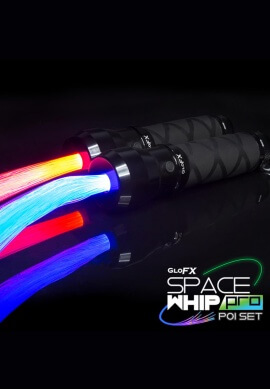 Space Whip Poi Set