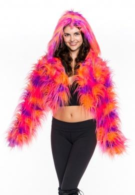 Lorax Fur Crop Hoodie