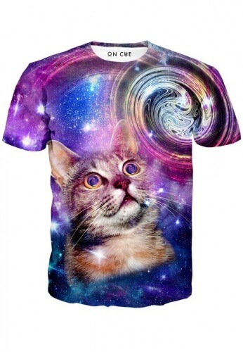 Amazed Cat T-Shirt