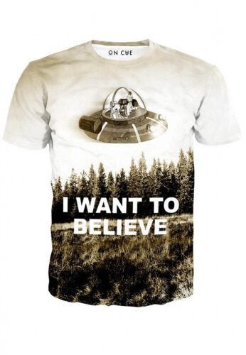 938566575 Rick and Morty Believe T-Shirt | Festival Shirts from RaveReady