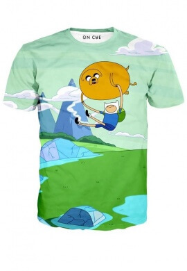 Adventure Time Balloon T-Shirt