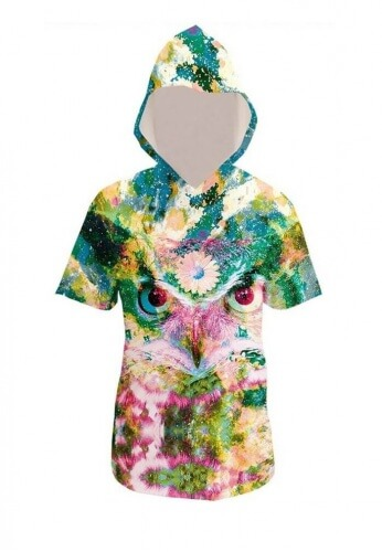 Third Owl Hoodie T-Shirt