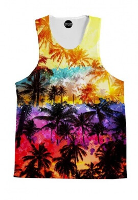 Florida Palms Tank Top