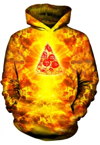 Almighty Pizza God Hoodie