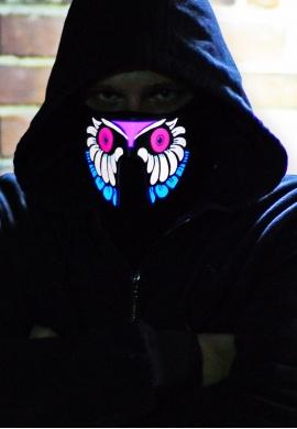 Insomniac Owl Light Up Mask
