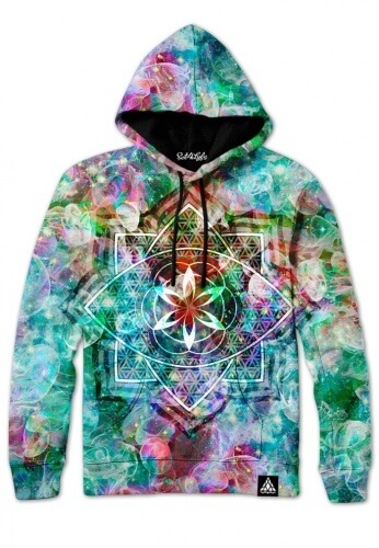 SPECTRONIC FRACTAL HOODIE