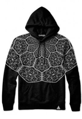 Cosmic Honeycomb Hoodie