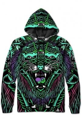 Acid Tiger Hoodie