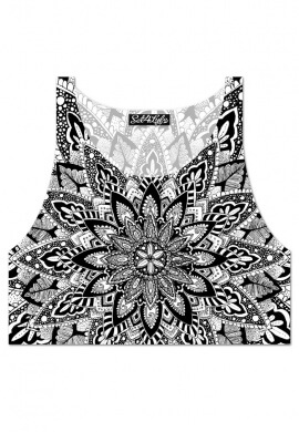 Floramandala Crop Top