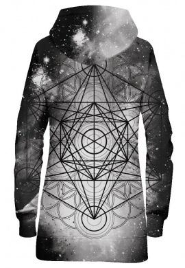 Metatronic Hoodie Dress