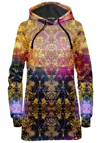 Pineal Metatron Hoodie Dress