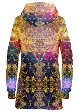 Pineal Metatron Hoodie Dress
