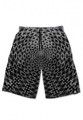 Asanoha Tetra Fade Portal Shorts