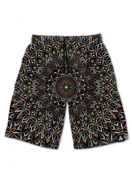 Flower Mandala Shorts