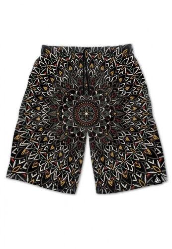 Flower Mandala Shorts