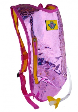 Pink Retro Raver Hydration Pack