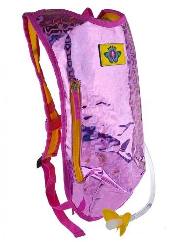 Pink Retro Raver Hydration Pack