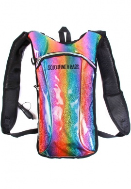 Glitter Rainbow Hydration Bag