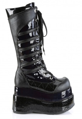Demonia Black Bear-205 Boots
