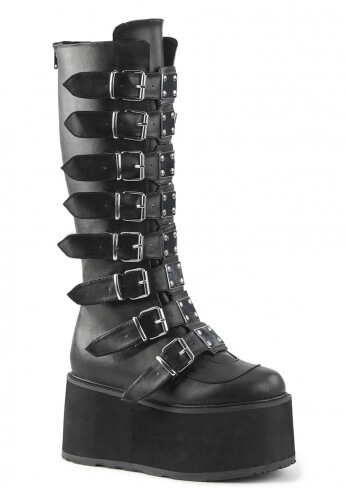 Demonia Black Damned-318 Boots