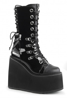 Demonia Black Swing-120 Boots