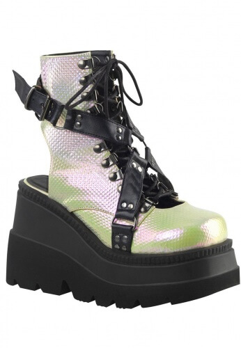 Holographic Shaker-56 Boots